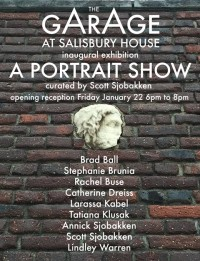 The Garage At Salisbury House ~ Inaugural Exhibition Opening: A Portrait Show