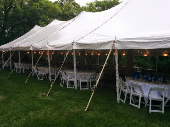 Photo gallery salisbury house - Terras tent ...